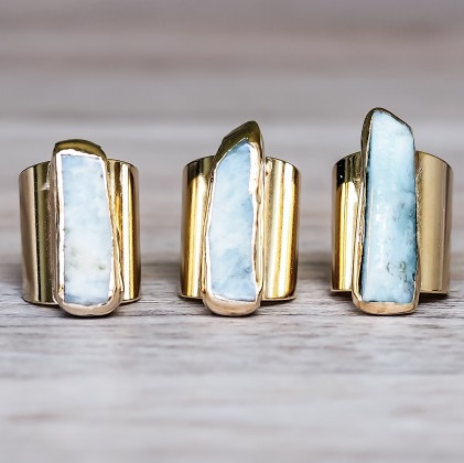 gold_aquamarine_ring_bohemian_gypsy_jewels_indie_and_harper