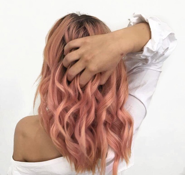 boho, boho hair, beach hair, beach waves, bohemian, hair Inspo, pink hair, coloured hair Inspo, gypsy hair, sea salt hair, mermaid hair,
