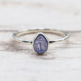 December Tanzanite Ring | Bohemian Gypsy Festival Jewels | Indie and Harper